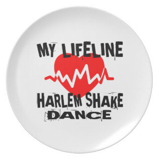 MY LIFE LINA HARLEM SHAKE DANCE DESIGNS PLATE