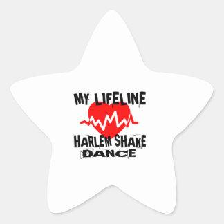 MY LIFE LINA HARLEM SHAKE DANCE DESIGNS STAR STICKER