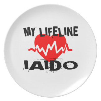 MY LIFE LINA IAIDO MARTIAL ARTS DESIGNS PLATE