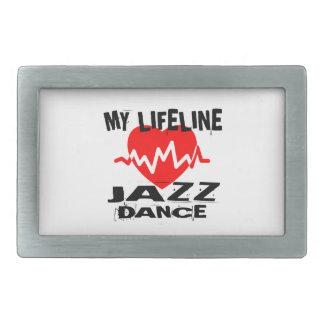 MY LIFE LINA JAZZ DANCE DESIGNS BELT BUCKLE