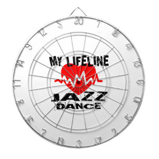 MY LIFE LINA JAZZ DANCE DESIGNS DARTBOARD