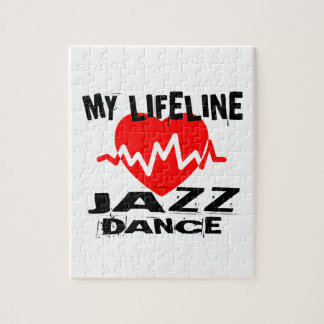 MY LIFE LINA JAZZ DANCE DESIGNS JIGSAW PUZZLE