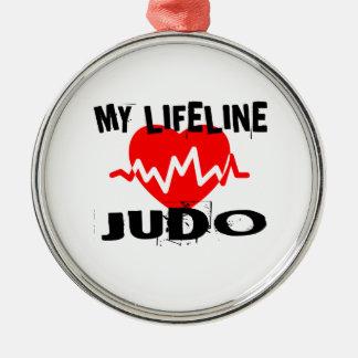 MY LIFE LINA JUDO MARTIAL ARTS DESIGNS METAL ORNAMENT
