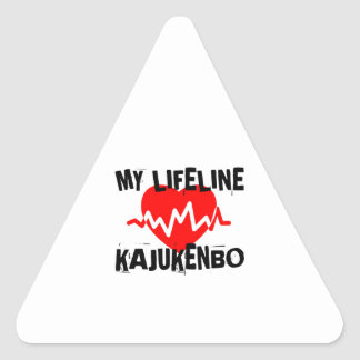 MY LIFE LINA KAJUKENBO MARTIAL ARTS DESIGNS TRIANGLE STICKER