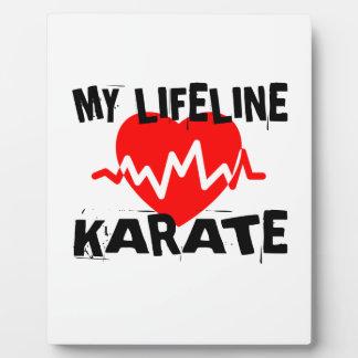 MY LIFE LINA KARATE MARTIAL ARTS DESIGNS PLAQUE