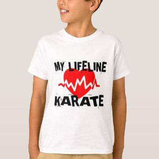 MY LIFE LINA KARATE MARTIAL ARTS DESIGNS T-Shirt