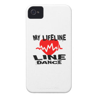 MY LIFE LINA LINE DANCING DANCE DESIGNS iPhone 4 Case-Mate CASE