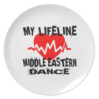 MY LIFE LINA MIDDLE EASTERN DESIGNS PLATE