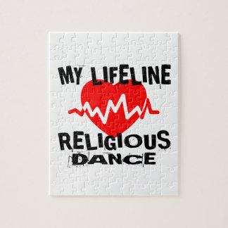 MY LIFE LINA RELIGIOUS DANCE DESIGNS JIGSAW PUZZLE