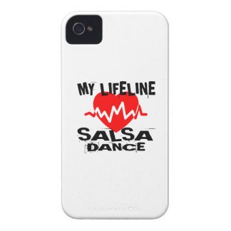 MY LIFE LINA SALSA DANCE DESIGNS iPhone 4 COVER