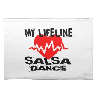 MY LIFE LINA SALSA DANCE DESIGNS PLACEMAT