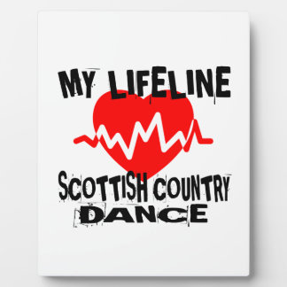 MY LIFE LINA SCOTTISH COUNTRY DANCING DANCE DESIGN PLAQUE