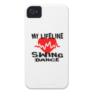 MY LIFE LINA SWING DANCE DESIGNS Case-Mate iPhone 4 CASE