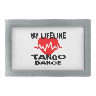 MY LIFE LINA TANGO DANCE DESIGNS BELT BUCKLE