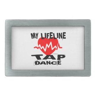 MY LIFE LINA TAP DANCE DESIGNS BELT BUCKLE