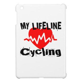 My Life Line Cycling Sports Designs iPad Mini Covers
