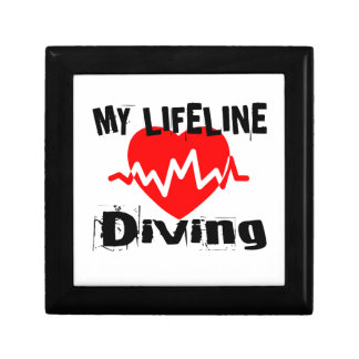My Life Line Diving Sports Designs Gift Box