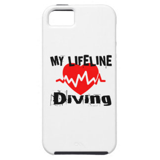 My Life Line Diving Sports Designs Tough iPhone 5 Case