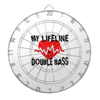 MY LIFE LINE DOUBLE BASS MUSIC DESIGNS DARTBOARD