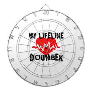 MY LIFE LINE DOUMBEK MUSIC DESIGNS DARTBOARD