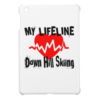 My Life Line Down Hill Skiing Sports Designs Case For The iPad Mini