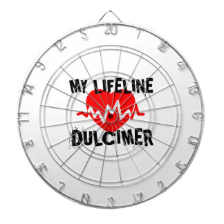 MY LIFE LINE DULCIMER MUSIC DESIGNS DARTBOARD
