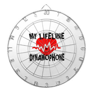 MY LIFE LINE DYNAMOPHONE MUSIC DESIGNS DARTBOARD
