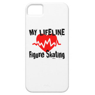 My Life Line Figure Skating Sports Designs Barely There iPhone 5 Case