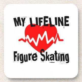 My Life Line Figure Skating Sports Designs Coaster