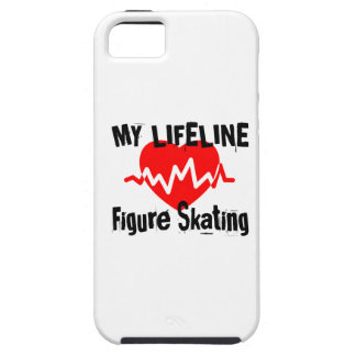 My Life Line Figure Skating Sports Designs iPhone 5 Case