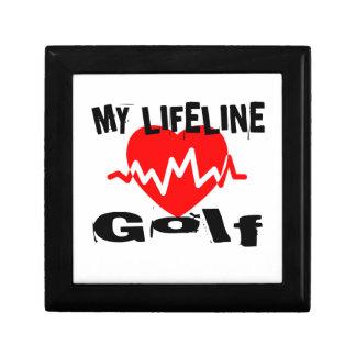 My Life Line Golf Sports Designs Gift Box