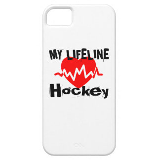 My Life Line Hockey Sports Designs Barely There iPhone 5 Case