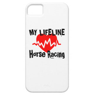 My Life Line Horse Racing Sports Designs iPhone 5 Case