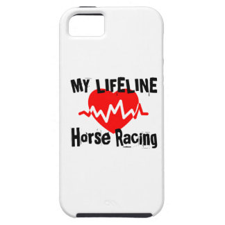 My Life Line Horse Racing Sports Designs iPhone 5 Cover