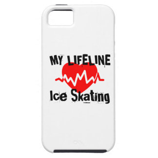 My Life Line Ice Skating Sports Designs Case For The iPhone 5