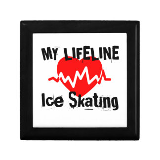 My Life Line Ice Skating Sports Designs Gift Box