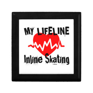 My Life Line Inline Skating Sports Designs Gift Box