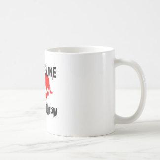 My Life Line Javelin throw Sports Designs Coffee Mug
