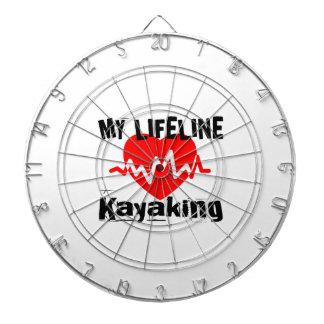 My Life Line Kayaking Sports Designs Dartboard