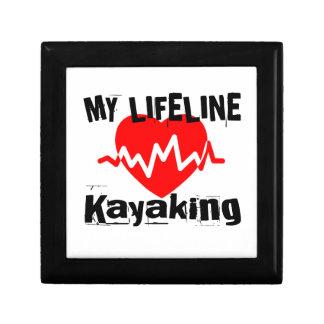 My Life Line Kayaking Sports Designs Gift Box