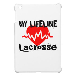 My Life Line Lacrosse Sports Designs Cover For The iPad Mini