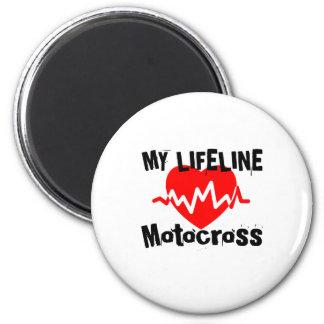 My Life Line Motocross Sports Designs Magnet