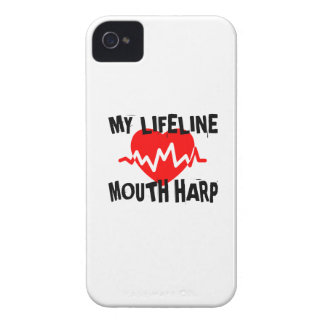 MY LIFE LINE MOUTH HARP MUSIC DESIGNS Case-Mate iPhone 4 CASES