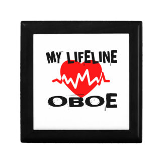 MY LIFE LINE OBOE MUSIC DESIGNS GIFT BOX