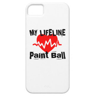 My Life Line Paint Ball Sports Designs Barely There iPhone 5 Case