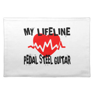 MY LIFE LINE PEDAL STEEL GUITAR MUSIC DESIGNS PLACEMAT
