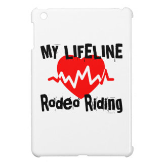 My Life Line Rodeo Riding Sports Designs Cover For The iPad Mini