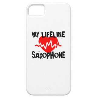 MY LIFE LINE SAXOPHONE MUSIC DESIGNS CASE FOR THE iPhone 5