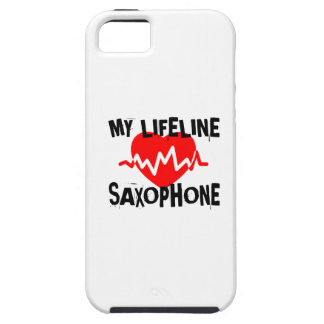 MY LIFE LINE SAXOPHONE MUSIC DESIGNS iPhone 5 CASE