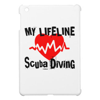 My Life Line Scuba Diving Sports Designs iPad Mini Covers